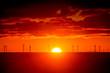 canvas print picture - Sunrise over Horizon