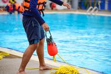 Lifeguard Training Use Throw Bag