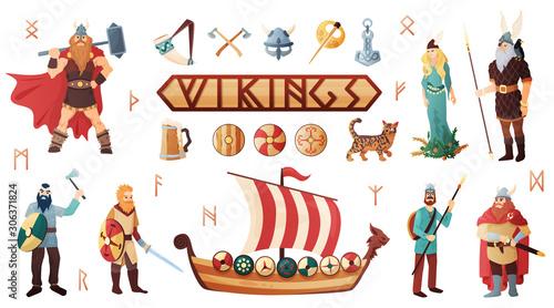 Photo Vikings Culture Set