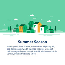 Summer Season In Small Town, T...