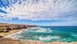 Atlantik Traumbucht an der Westküste von Fuerteventura Playa del Viejo Rey / Spanien