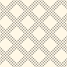 Polka Dot Seamless Pattern. Repeated Dotted Diagonal Stripes Texture. Round Spots Motif. Mini Circles Abstract Wallpaper