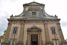 Church Of St. Michael The Archangel Sciacca Sicily Italy