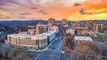 Asheville, North Carolina, USA...