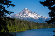 Mount Hood From Lost Lake In O...