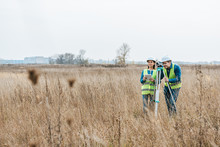 Surveyors With Digital Level A...