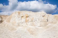 Chalk Mining.