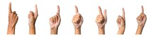 Male Hand Gesture And Sign Col...