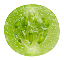 Isolated Gooseberry. Slice Of ...