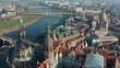Dresden is a city in Germany, the administrative center of Saxony, on the river Elbe. It is one of the largest centers of industry, transport and culture in Germany. Drone view