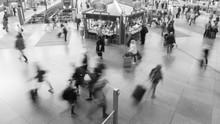 Streetlife: Hektische Menschen...