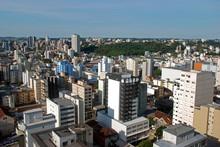 Aerial View Of Caxias Do Sul, Rio Grande Do Sul, Brazil