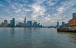 Cityscape of Huangpu Riverside, Yangpu District, Shanghai, China
