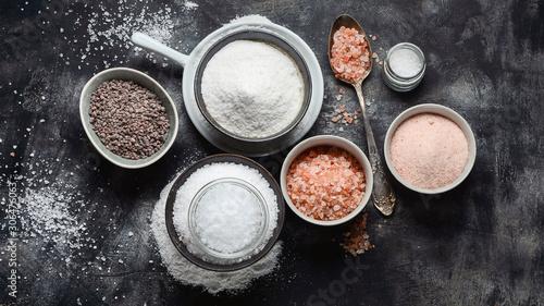 Types of salt Canvas