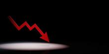 Falling Arrow Chart Spotlighte...