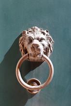 Doorknocker With Head Of Lion ...