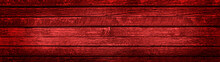 Old Red Wood Background With W...