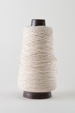 Spool Of Thick White Thread O...