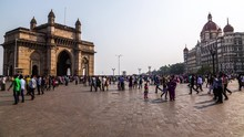 People Visiting The Gateway Of...