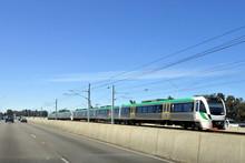 Transperth Train In Perth West...