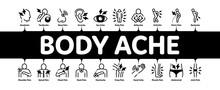 Body Ache Minimal Infographic ...