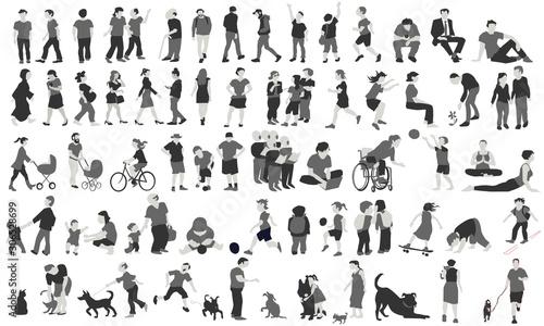 Photo Vector humans