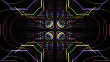 Psychedelic Tribal Kaleidoscop...