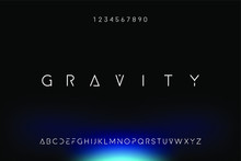 Gravity. Abstract Technology S...
