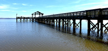 Fishing Pier In Leesylvania State Park, Woodbridge, Virginia
