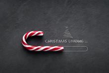 Christmas Loading Concept - Ca...
