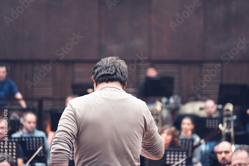 Photo Musicians, orchestra and musical instruments