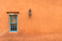 Old Southwestern Adobe Wall An...