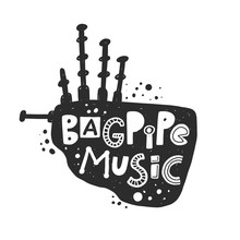 Bagpipe Music Festival Vector ...