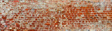 Rustic Brick Wall In Poster Size