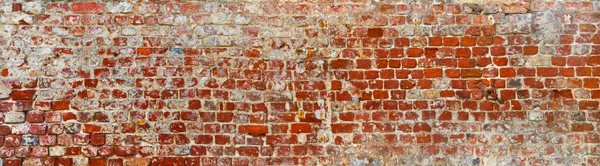 Fototapeta Struktura ściany Rustic brick wall in poster size