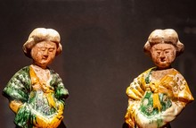 Two Very Old Chinese Figurines