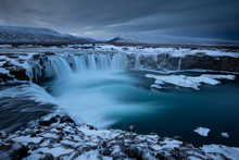 Godafoss, God's Waterfall In I...