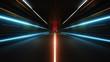 Leinwanddruck Bild - speed of light