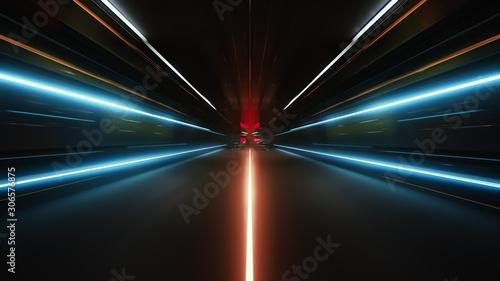 Valokuvatapetti speed of light