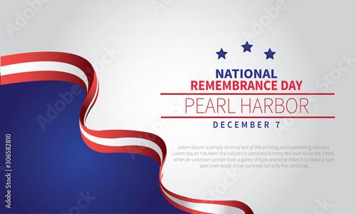 Obraz na plátně Pearl Harbor Remembrance Day 7 December 1941 , 2020