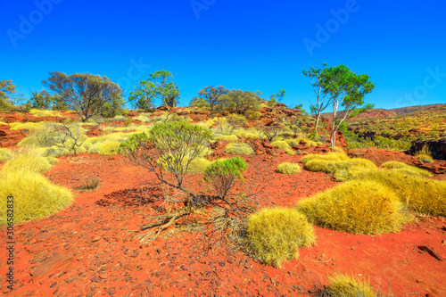 Finke Gorge National Park in Northern Territory, Central Australia Outback Canvas-taulu