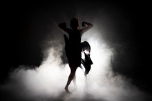 Silhouette Dancer Woman Perfor...