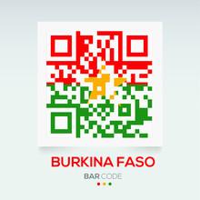 Banner Flag Of Burkina Faso ,V...
