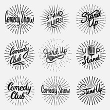 Lettering Stand Up Set. Calli...