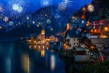 Hallstatt In Austria Celebrati...