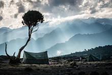 Camping In Kilimanjaro
