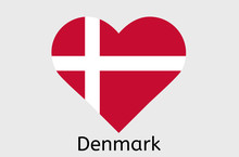 Danish Flag Icon, Denmark Coun...