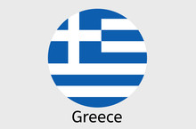 Grecian Flag Icon, Greek Count...