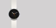 Modern Classic Watch On Grey B...