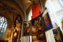 Interior Of Cathedral Of Antwerp